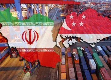 Iran's Trade Volume With Singapore Up 7.8%