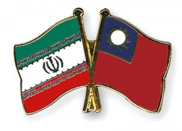 Iran's Non-Oil Trade With Taiwan Hit $600m Last Year