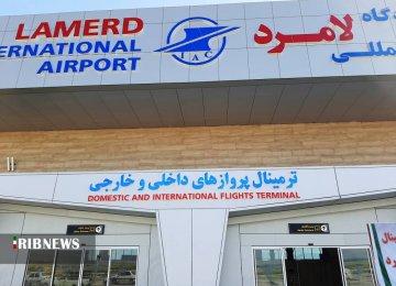 Major Boost to Lamerd Int'l Airport Capacity