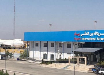 Payam Int'l Airport to Resume Passenger Flights