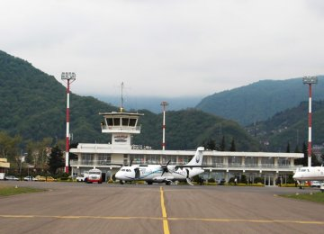 Ramsar Int'l Airport Resumes Flights