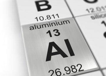 Aluminum Output Declines