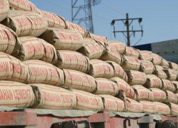 54K Tons of Cement Exported to Afghanistan Since March 20