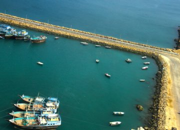 New Delhi has committed to invest $500 million in Chabahar's  first phase of development.