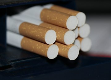 Iran Cigarette Output Up 10%