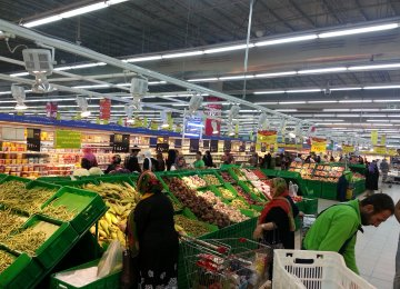 The Iranian economy has been beset by high inflation rates compared to the world average.