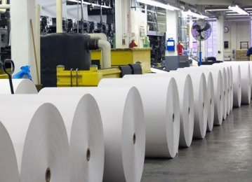 Paper Production Plummets
