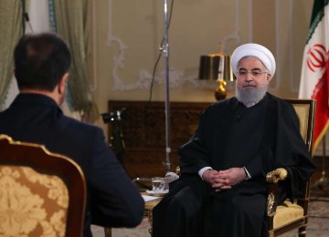 President Hassan Rouhani delivered a televised speech on Nov. 28.