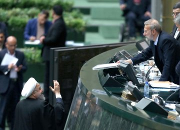 President Hassan Rouhani submitted the budget bill for the fiscal 2018-19 to the parliament on Dec. 10.