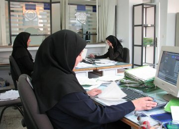 Currently, over 50% of Iran's women are active in the services sector.