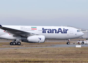 "Late January, Iran Air published the image of an Airbus A330, which was said to be parked in France's Chateauroux-Centre ""Marcel Dassault"" Airport and painted in the flag carrier's livery."