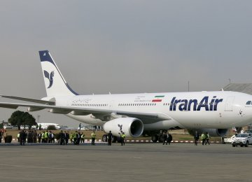 Iran Air Banks on New Planes to Prosper (Photo: Alireza Izadi)