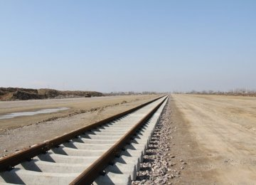 Kermanshah Railroad Track-Laying Complete