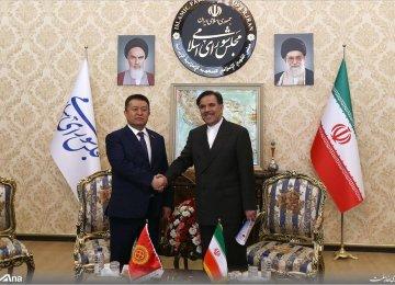 Tehran, Bishkek Discuss Rail Projects