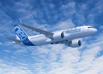 The Airbus A320 family accounts for most of the narrow-body jets Iranian airlines have ordered in the past two years