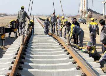 Rail expansion is a top priority in Iran's sixth five-year development plan (2016-21), which is currently being reviewed in the parliament.