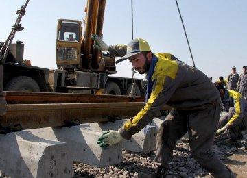 Railroad Development Pending Supply of Rails
