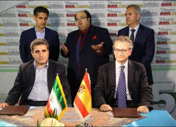 MoU With Spain for Cooperation in Rail Traffic Control