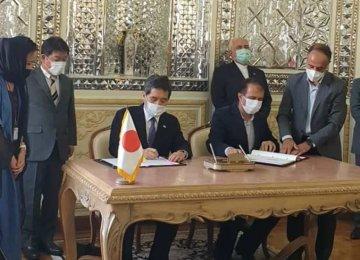 Iran, Japan Sign Customs Coop. Deal