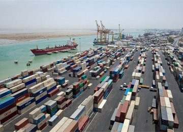 Bushehr Port accounts for more than half of Iran's maritime trade.