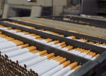 Cigarette Output Up 12%