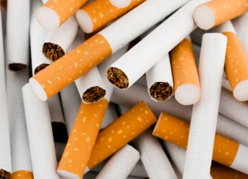 Cigarette Output Up 12.6%