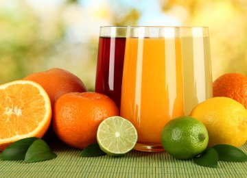 Fruit Juice, Concentrates Exported to 5 Neighbors
