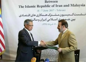 Iran-Malaysia Economic Commission Meeting Concludes