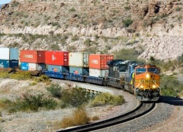 Iran-Turkey Rail Freight Transport  Up 54%