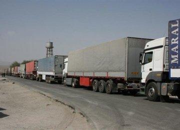 Trucks Banned From Entering Iraq Until  Nov. 14