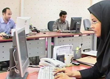 Iran's Job Market Male-Dominated