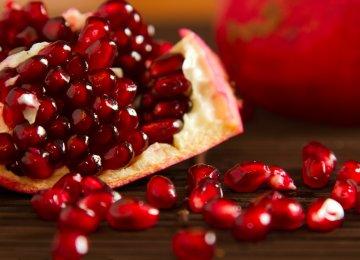 Pomegranate Exports Earn $3.8 Million