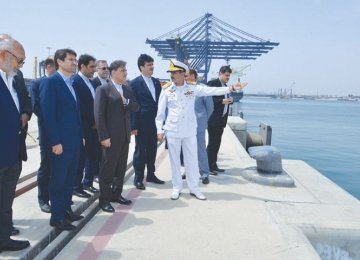 Karachi Port Trust Chairman Admiral Jamil Akhtar briefed the Iranian delegation about facilities and avenues available at the Deepwater Container Port for private investment.