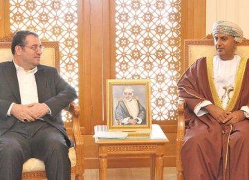 Iran, Oman Review Trade, Transport Ties