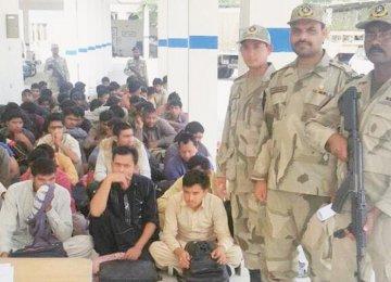 Illegal Pakistani Migrants Deported