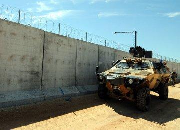 Turkey Halfway Through Border Wall