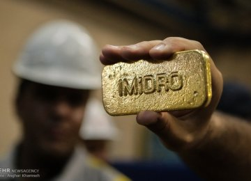 Mouteh, Zarshouran Gold Output Hit 1,139 Kg