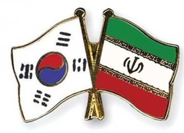 Iran's Non-Oil Trade With South Korea Tops $3.7 Billion