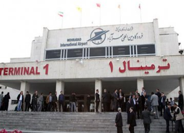 Mehrabad Int'l Airport Reopens Terminal 1