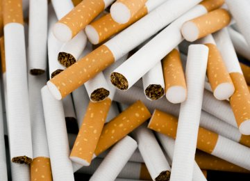 Cigarette Production Up 42%