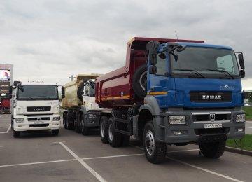Russian Container Trucks Allowed to Enter Mazandaran