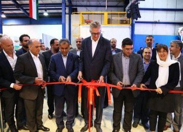 Multinational Firm Opens Production Line in Qazvin