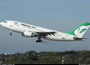 Germany Plans to Sanction Iran's Mahan Air