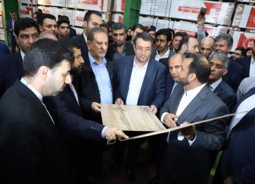 Two Industrial Units Come on Stream in Ahvaz