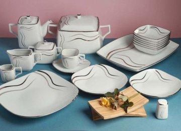 Porcelain Dish Output Exceeds 44K Tons