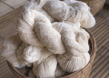 Raw Silk Imports at $3.4m in 5 Months