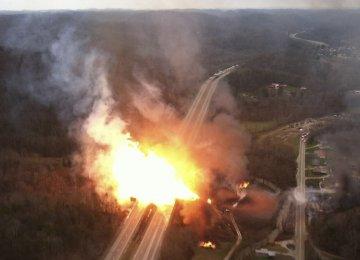 Blast at Baku Gas Pipeline