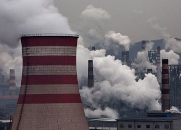 Chinese Province Vows 20% Cut in Pollution