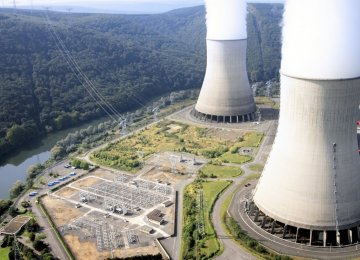 France aims to reduce to 50% the share of nuclear power.