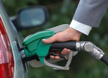 Gasoline Consumption Up 8 Percent